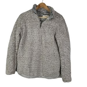 Thread & Supply Brown Bear Wubbly Sherpa Pullover